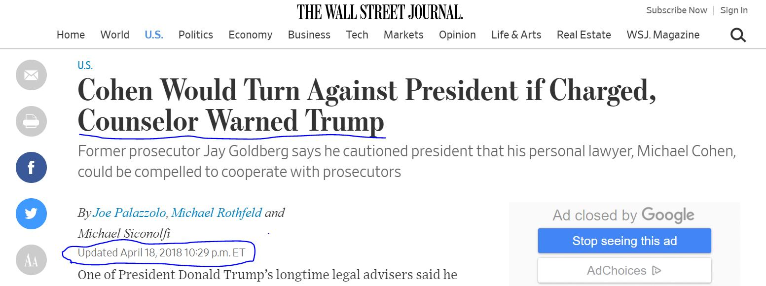 """河边 评述""""警长战总统""""之荒诞(56-8)律师们"""